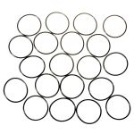 Water-tight Silicon O-ring for flashlights (30 x 1.5mm) black