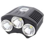 LED Bike Flashlight TrustFire TR-D009 (3xCree XM-L, 1100 lumen, 4 modes, 4x18650 - 4.2V)