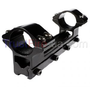 Universal Aluminum Alloy Gun Mount for Rail Interface System (RIS) 25mm, with two mount| Internet shop TrustFire | Buy, price, reviews, photos, videos
