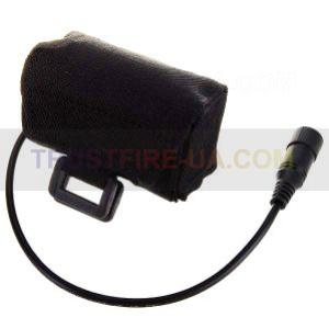 External Battery Pack with Pouch for LED bike flashlights (4x18650). To buy in the Internet мегазине http://trustfire-ua.com/
