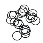 Water-tight Silicon O-ring for flashlights (15 x 1.5mm) black