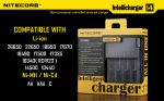 Charger Nitecore Intellicharger i4 v.2 (4 channels)