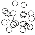 Water-tight Silicon O-ring for flashlights (34 x 1.5mm) black
