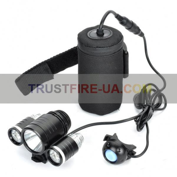 TrustFire Bicycle Light TR-D003 1800 Lumens NEW