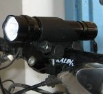 Universal Bicycle Mount for Flashlights and Gadgets (15 - 30mm)