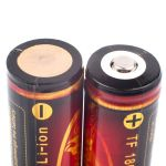 Rechargeable battery Litium Li-Ion 18650 TrustFire 3.7V (3000mAh), protected