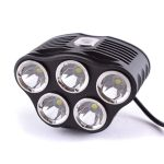 LED Bike Flashlight TrustFire TR-D010 (5xCree XM-L, 2880 lumen, 5 modes, 6x18650)